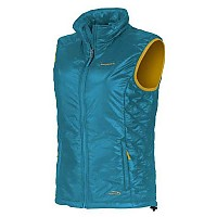 [해외]트랑고월드 Namdu Vest Polyamide Downproof Turkey Blue / Green Cypres
