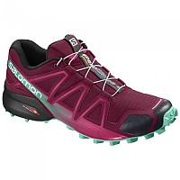 [해외]살로몬 Speedcross 4 Beet Red / Electric Green / Black