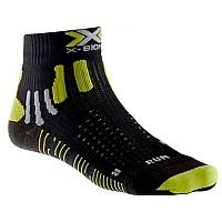 [해외]엑스 바이오닉 Effektor Run Socks Black / Acid Green