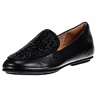 [해외]핏플랍 Lena Crystal Loafers Black