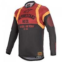[해외]알파인스타 Racer Tech Flagship Black / Bordeaux / Orange