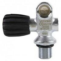 [해외]DIRZONE Mono Ventil 232 BAR Right Black / Silver