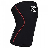 [해외]REHBAND RX Knee Sleeve 7 mm Black / Red