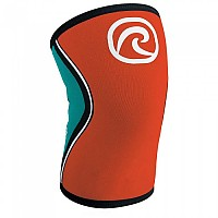 [해외]REHBAND RX Knee Sleeve 5 mm Orange / Teal
