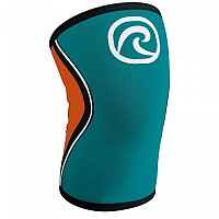 [해외]REHBAND RX Knee Sleeve 5 mm Teal / Orange