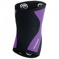 [해외]REHBAND RX Knee Sleeve 3 mm Black / Purple