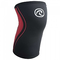 [해외]REHBAND RX Knee Sleeve 3 mm Black / Red