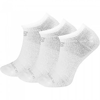 [해외]뉴발란스 No Show Cotton 3 Pair White