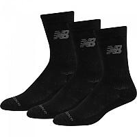 [해외]뉴발란스 Sport Cotton 3 Pair Black
