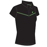 [해외]PRINCE Top Polo Woman Black / Green