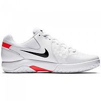 [해외]나이키 Court Air Zoom Resistance White / Black / Bright Crimson