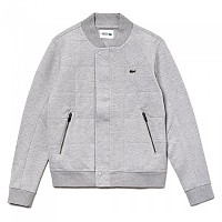 [해외]라코스테 Sport Quilted Effect Cotton Blend Fleece Teddy Silver Chine