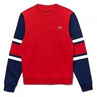 [해외]라코스테 Sport Striped Fleece Red / Navy Blue / White