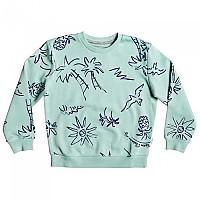 [해외]퀵실버 Hyams Sand Crew Boy Pastel Turquoise Palm Oz
