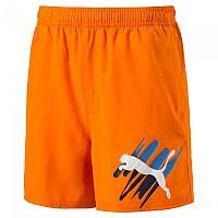 [해외]푸마 Style Summer Big Cat Short Pants Vibrant Orange