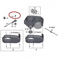 [해외]시마노 Speed Sensor Screw L16 DU-E6000 Steps Black