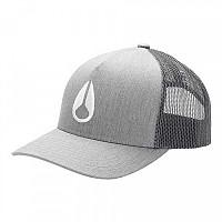 [해외]닉슨 Iconed Trucker Hat Heather Gray