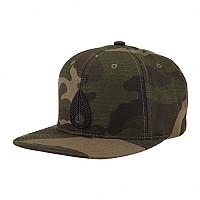 [해외]닉슨 Icon Snapback Hat Woodland Camo