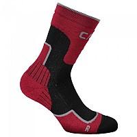 [해외]CMP Trekking Sock Wool Mid Salsa