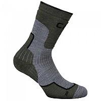 [해외]CMP Trekking Sock Wool Mid Eden