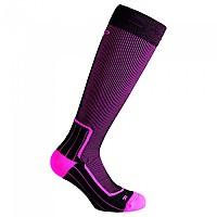 [해외]CMP Trekking Wool Long Pink Fluo