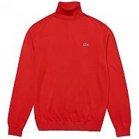 [해외]라코스테 Live Turtleneck Cashmere And Cotton Flash Red