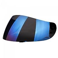 [해외]AGV Full Jack/K4/K4 Evo/K3/K3 Basic Street 8 Anti Scratch Visor Iridium Blue