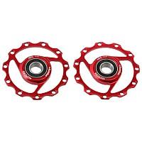 [해외]MSC Ultralight Pulleys 11T Red