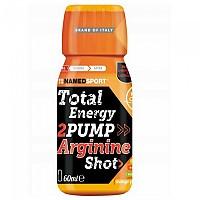 [해외]NAMED SPORT Total Energy 2Pump Arginine Shot 60ml x 20 Units Mango / Peach