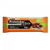 [해외]NAMED SPORT Proteinbar Zero Low Sugar 50gr x 12 Bars Madagascar Dream Cocoa
