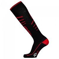 [해외]RIDAY Long Socks Extralight With Nexus Active Black / Red