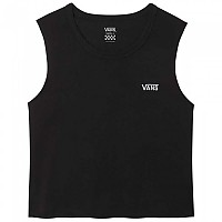 [해외]반스 Junior V Muscle Crop Black