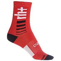 [해외]rh+ Logo 15 Sock Psycho Red / Black / White