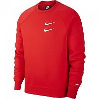 [해외]나이키 Sportswear Swoosh Crew University Red / White