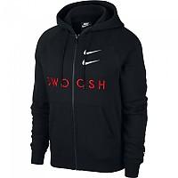 [해외]나이키 Sportswear Swoosh Black / University Red / White