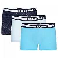 [해외]타미힐피거 언더웨어 Stretch Prtint 3 Pack Blue Grotto / Cashmere Blue / Navy Blazer