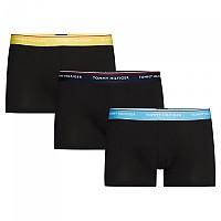 [해외]타미힐피거 언더웨어 Stretch Waistband 3 Pack Peacoat / Blue Grotto / Prim Rose Yellow