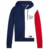 [해외]타미힐피거 언더웨어 Full Zip Color Block Hoodie Navy Blazer