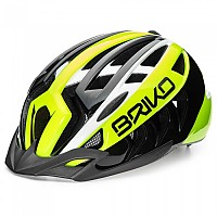 [해외]브리코 Aries Corsa Shiny Black / Yellow Fluo
