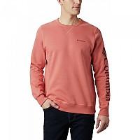 [해외]컬럼비아 로고 Fleece Dark Coral / Red Jasper