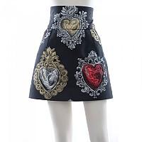 [해외]돌체앤가바나 732381/ 미니 Skirt Black