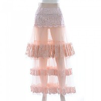 [해외]돌체앤가바나 732382/ 롱 레이스 Skirt Pink
