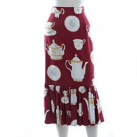 [해외]돌체앤가바나 732383/ Skirt Dark Red