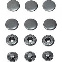 [해외]POLO Push 버튼 15 mm 3 Units Silver