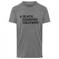 [해외]블랙 다이아몬드 스택드 로고 Charcoal Heather