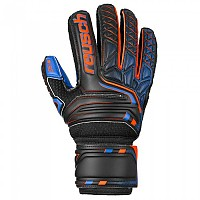 [해외]로이쉬 Attrakt SG Extra Finger Support 3137525147 Black / Shocking Orange / Deep Blue