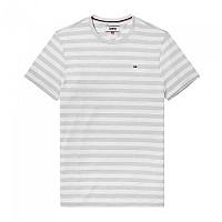 [해외]타미힐피거 T-셔츠 S/S 스트라이프 Light Grey Heather / White