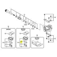 [해외]시마노 SH51/SH52/SH55/SH56 Cleat Adapter Man137565929 Black