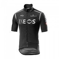 [해외]카스텔리 팀 INEOS 2020 Gabba Rain Or Sine Light Black / Red