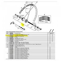 [해외]시마노 MT500 CL 29 Axle 137565932 Black